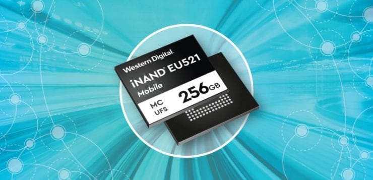 WD iNAND MC EU521 embedded flash device