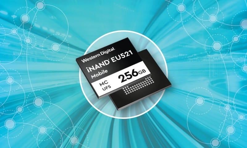 WD iNAND MC EU521 embedded flash device