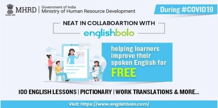 EnglishBolo™ is a 100-day English language learning programme that blends 100 self-learning lessons