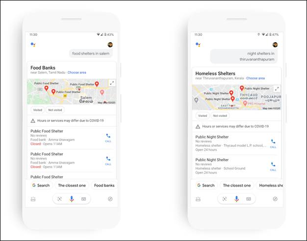 COVID-19 food and night shelters in India gets listed on Google Maps