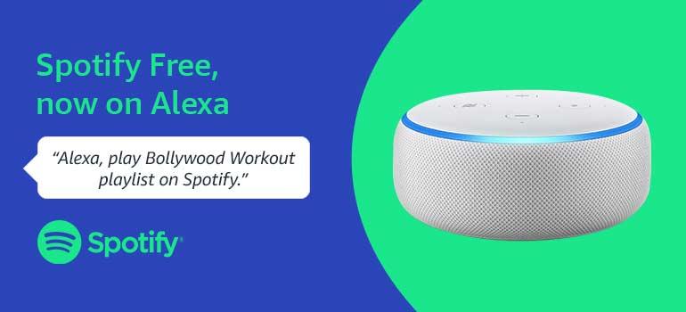 Spotify on Alexa