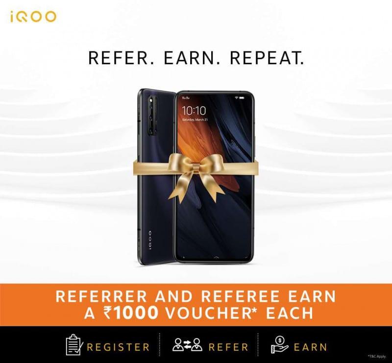 iQOO 3 Referral Program