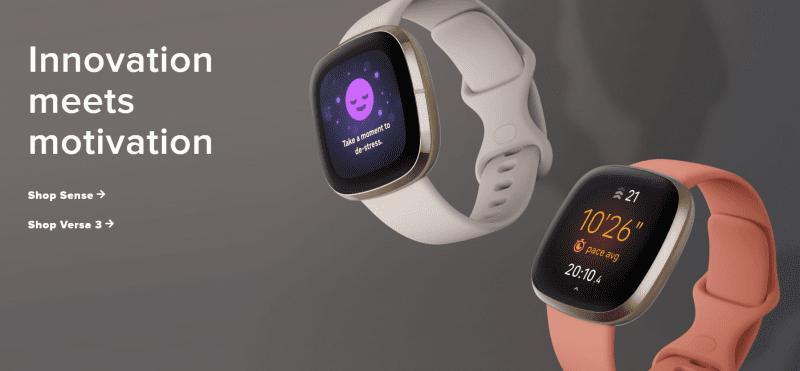 Fitbit Sense and Versa 3