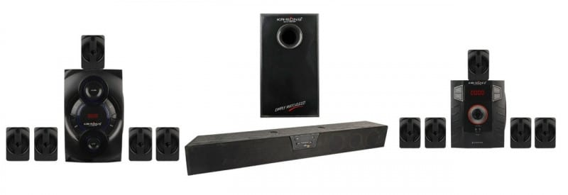 Krisons Home Theater and Sound Bar