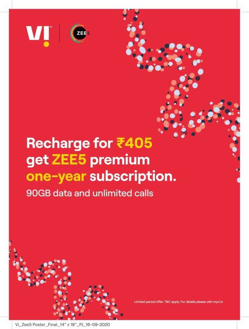 Vi_Zee5 offer