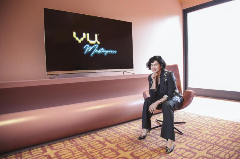 Vu 85-inch Masterpiece TV