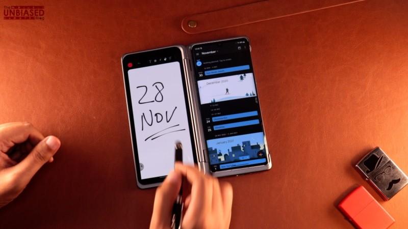 LG Velvet Dual Screen Active Pen