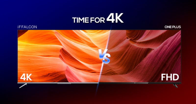 IFFALCON Vs OnePlus TV