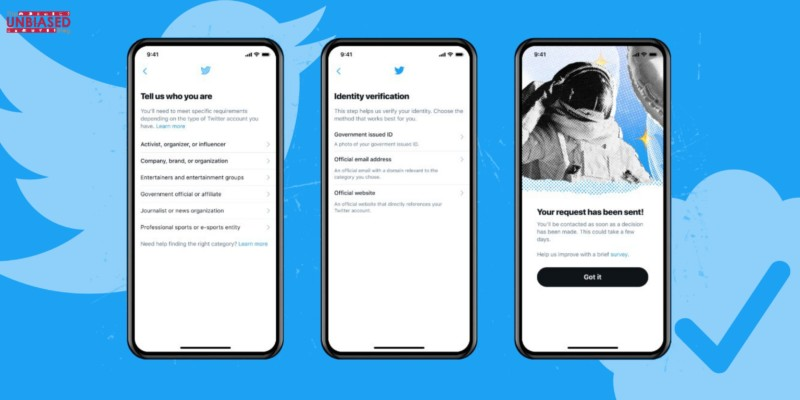 How to apply for a verification badge on Twitter