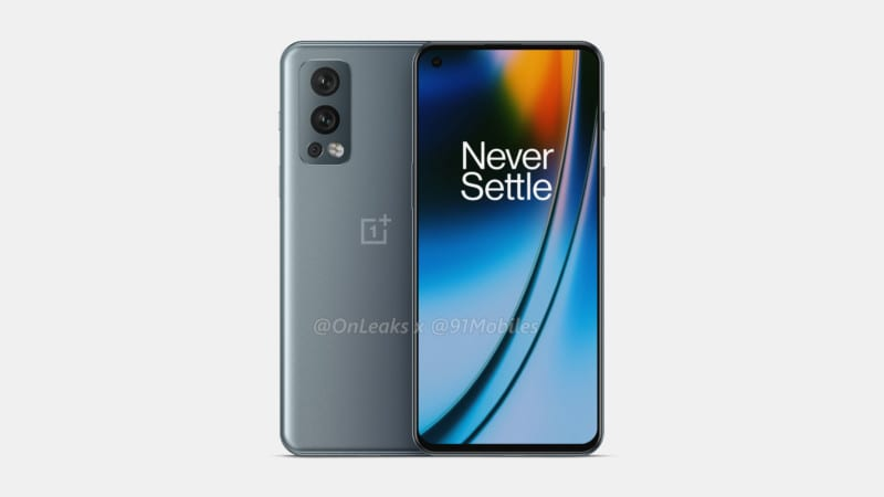 OnePlus Nord 2 design, display and camera leaked via new renders