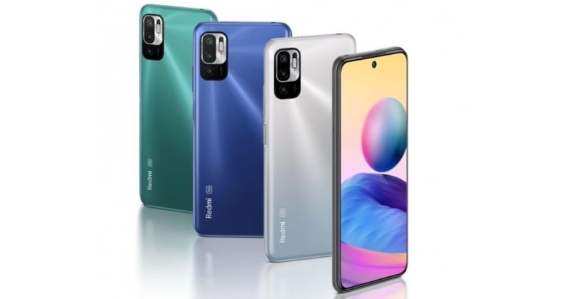 Redmi Note 10T launched