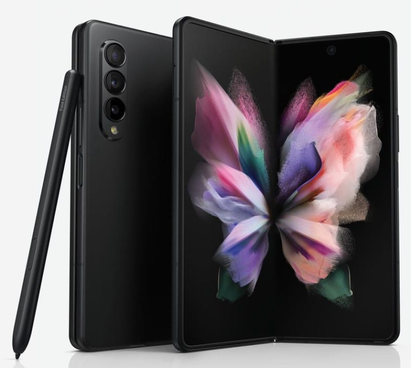 Samsung Galaxy Z Fold 3 with Snapdragon 888 spotted