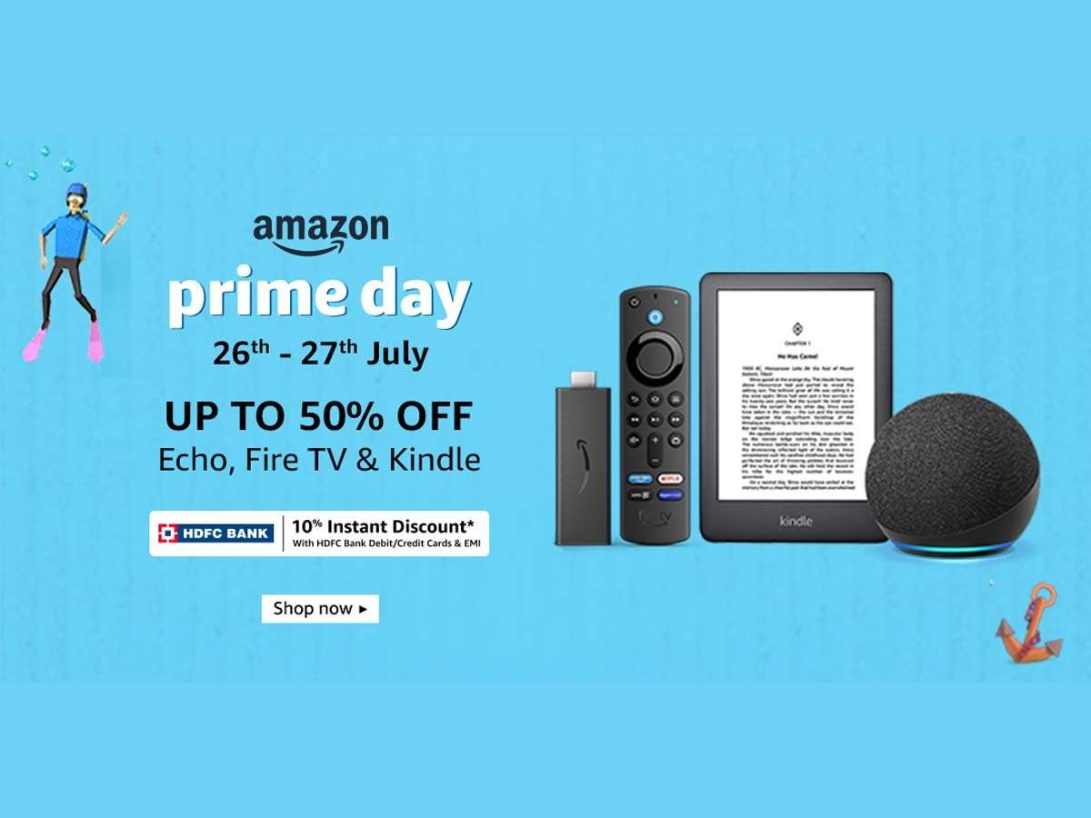 Echo, Fire TV, and Kindle