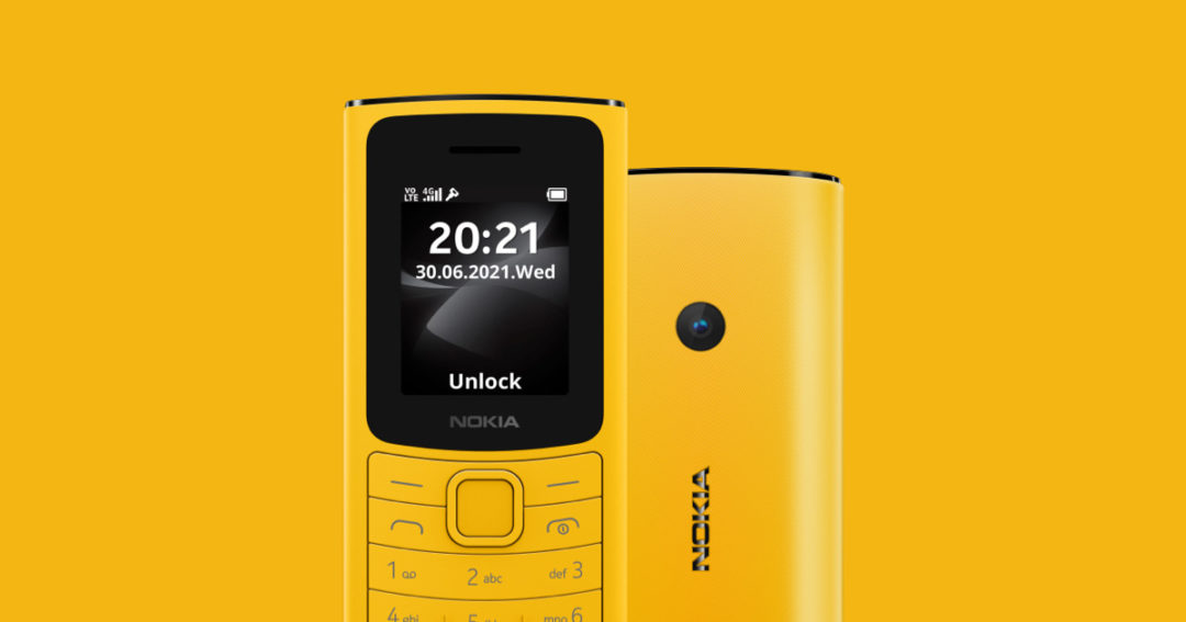 Nokia launches their Feature phone