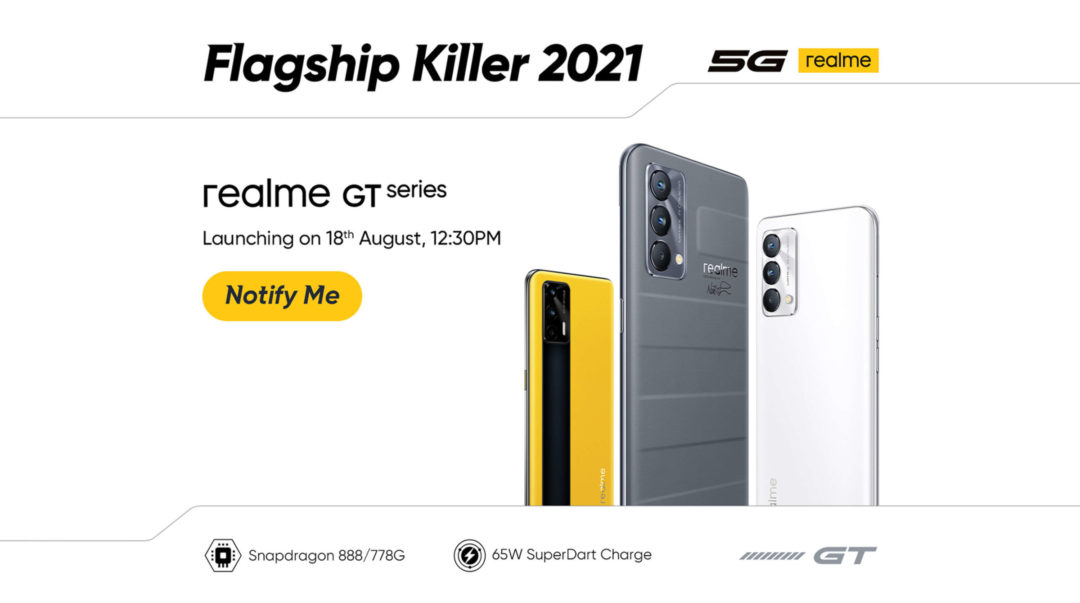 Realme GT series launching