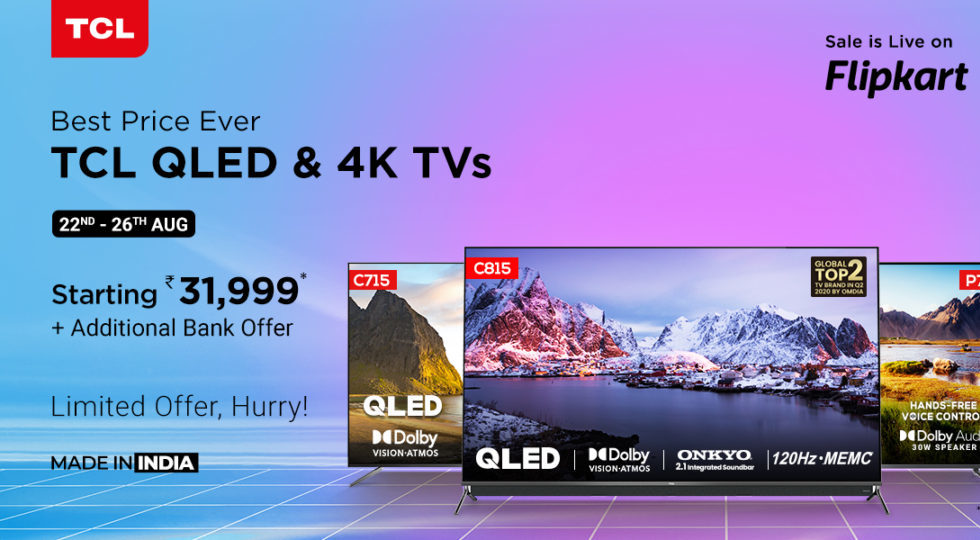 TCL announces up to 50% discount