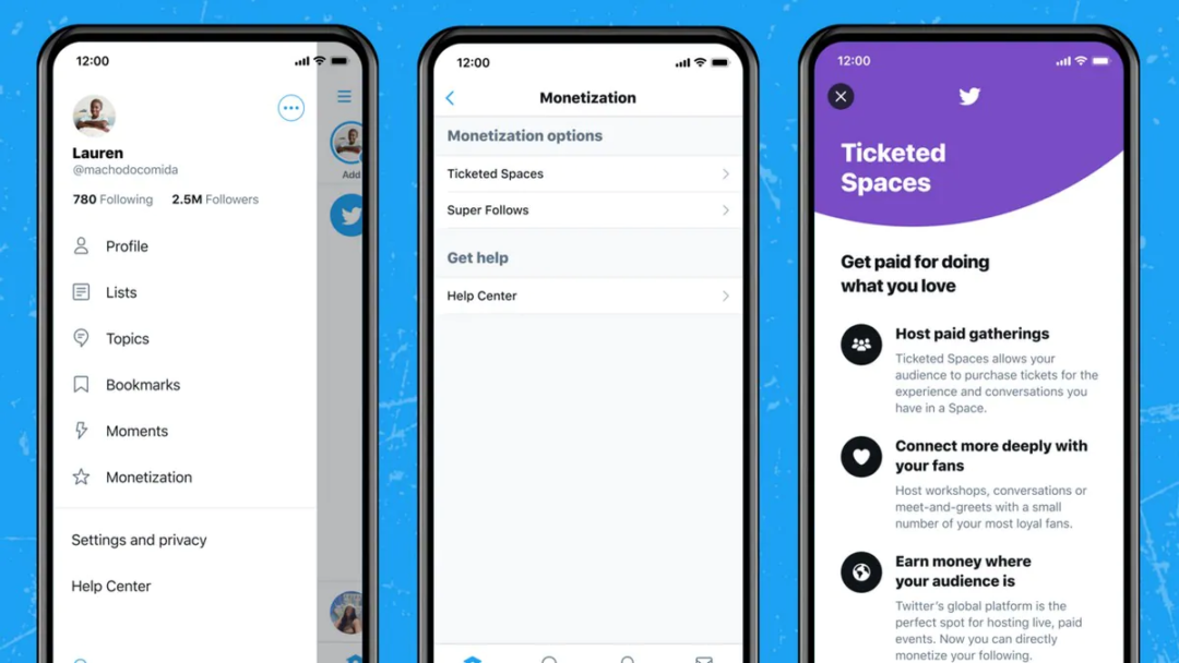 Twitter has started rolling out Ticketed