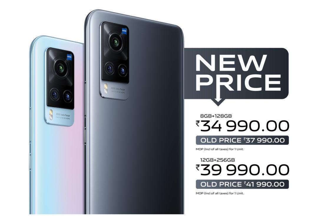 Vivo X60 gets a price cut