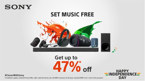 Sony India announces deals and offers