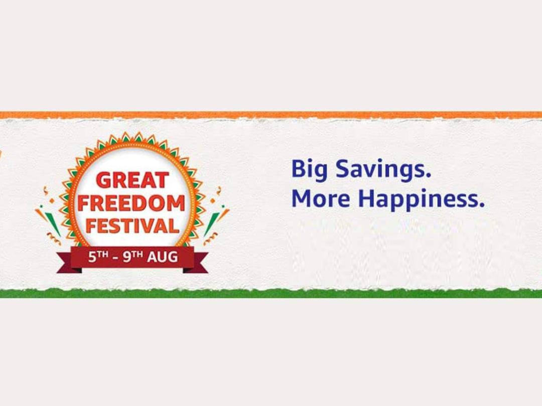 Amazon announces Great Freedom Festival