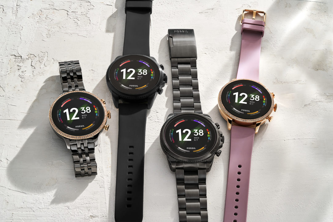 Fossil launches the Gen 6 watches
