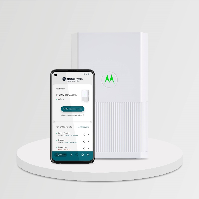 Motorola launches their Networking Products