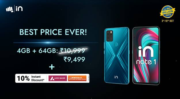 Micromax announces a price cut on its IN note 1