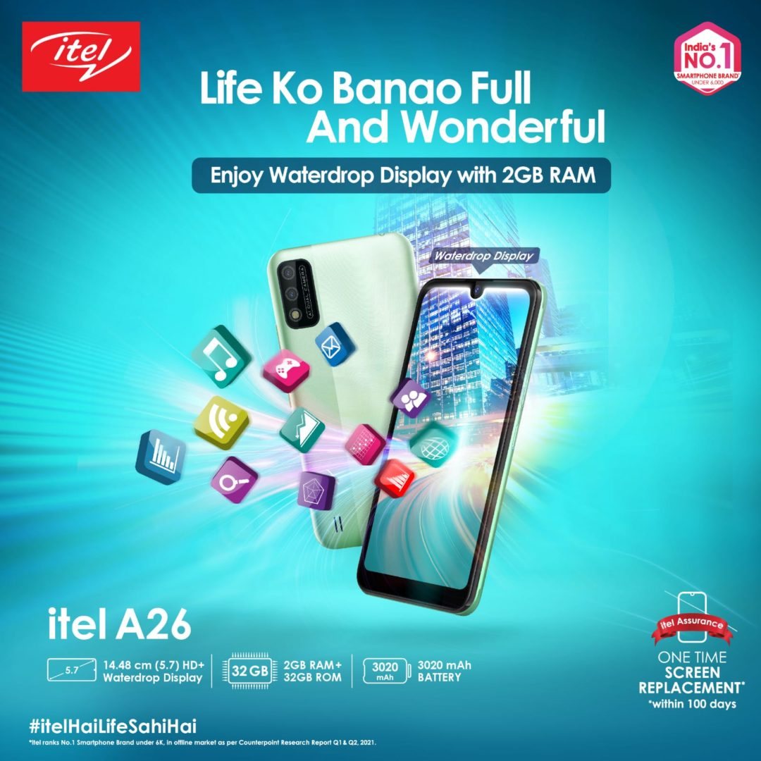 Itel launches their entry level A26
