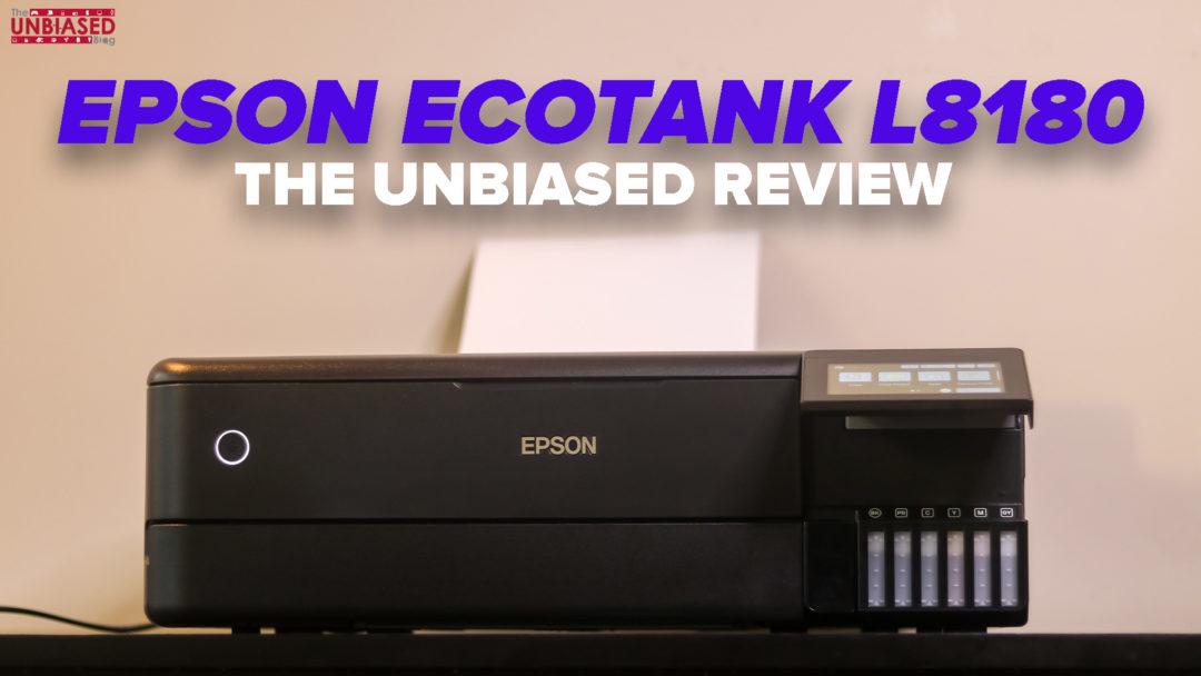 Epson EcoTank L8180 Printer